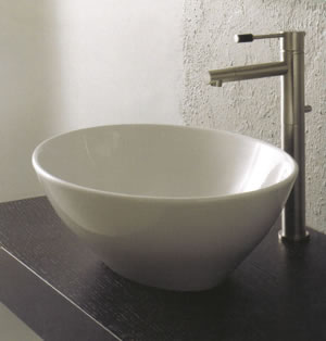 scarabeo ovo waschbecken. Black Bedroom Furniture Sets. Home Design Ideas